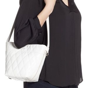 Givenchy $1590 NWT Mini GV Quilted Leather Bag